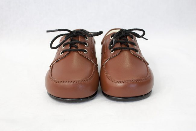 Boys Early Steps Royal Shoes in Brown-1003