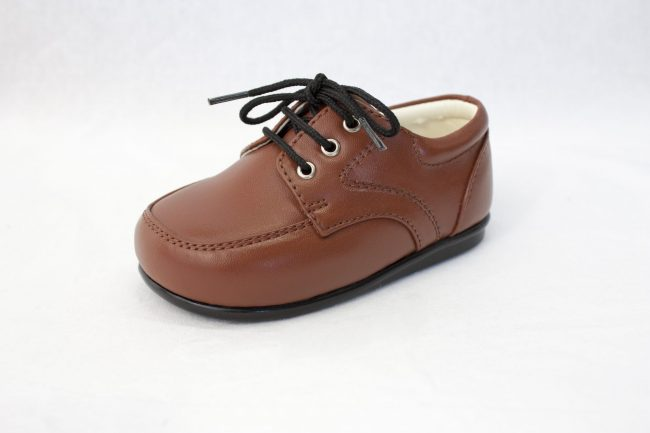 Boys Early Steps Royal Shoes in Brown-1001