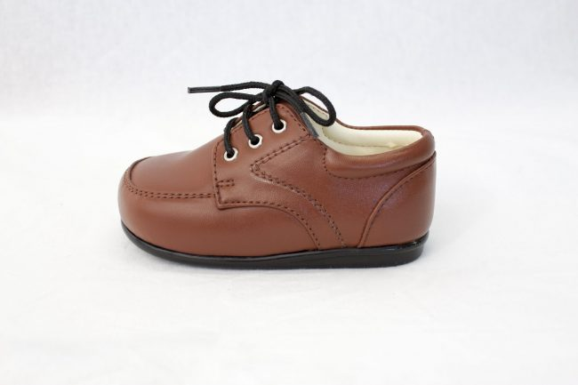 Boys Early Steps Royal Shoes in Brown-1000