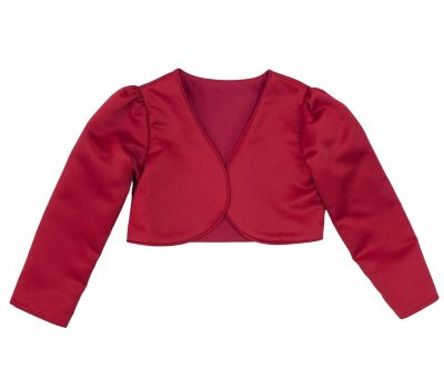 Girls Bolero in Red-0
