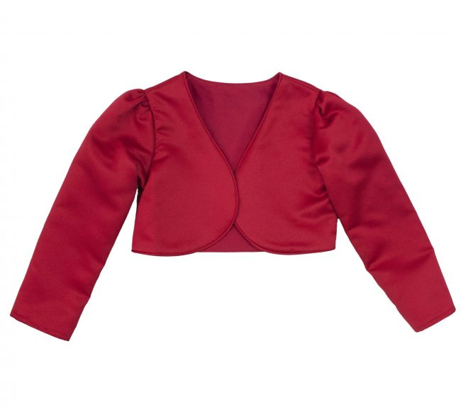 Girls Bolero in Red-0