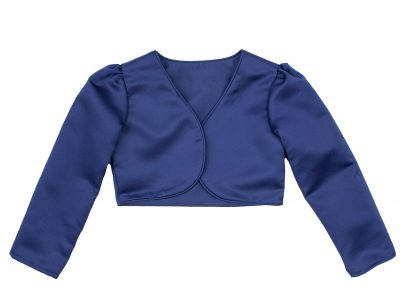 Girls Bolero in Navy-0