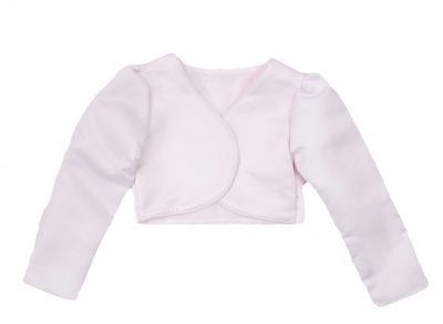 Girls Bolero in Baby Pink-0