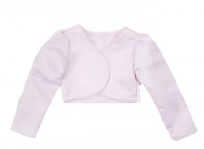 Girls Bolero in Baby Pink-0