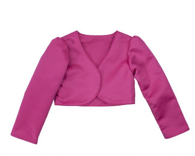 Girls Bolero in Pink-0