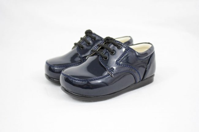 Boys Early Steps Royal Shoes in Navy-1111