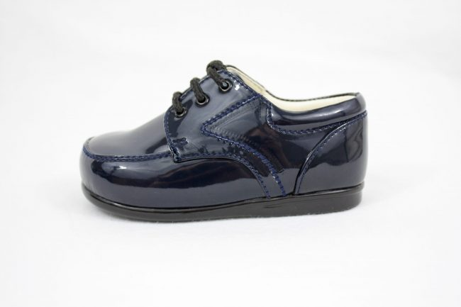 Boys Early Steps Royal Shoes in Navy-1110