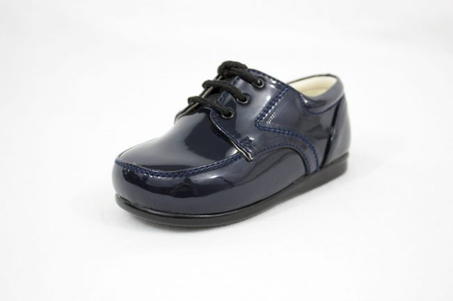 Boys Early Steps Royal Shoes in Navy-1109