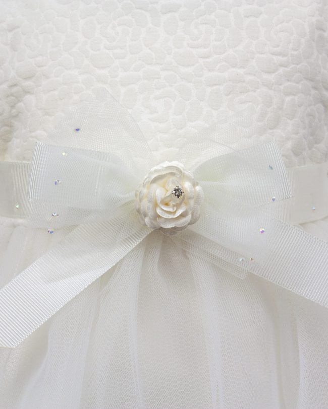 Visara Luxury 3 Piece Flower Dress Boxed Set -1060