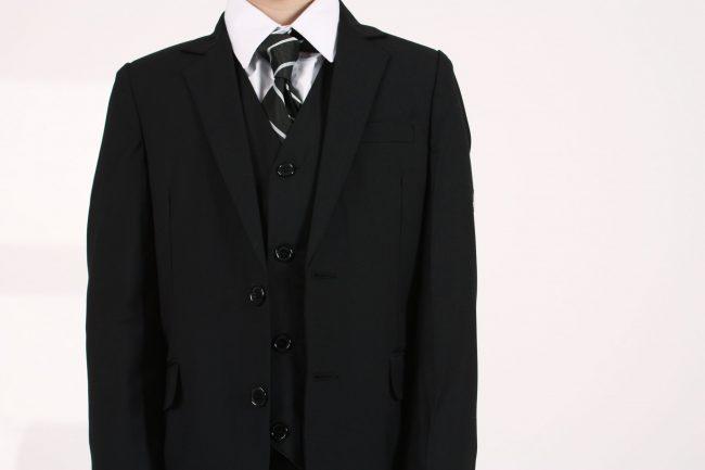 Vivaki 5 Piece Black Suit-1090