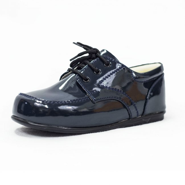 Boys Early Steps Royal Shoes in Navy-0