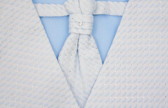 3PC Vivaki Diamond Waistcoat Set in Blue-1248