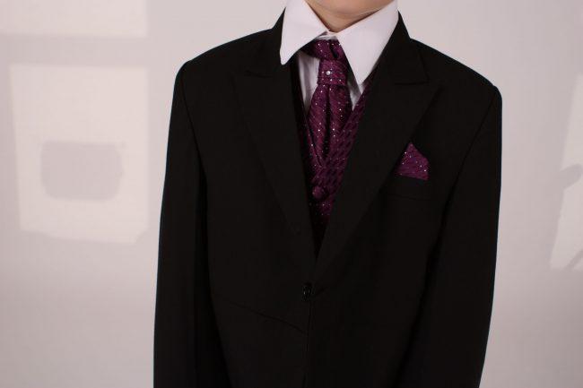 5 piece black/purple diamond -1413