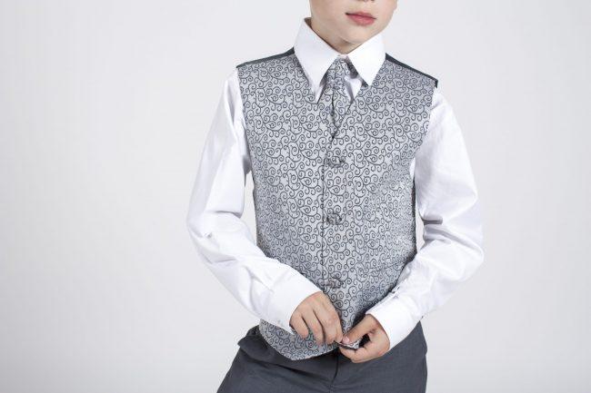 5 piece grey swirl tailcoat-1325