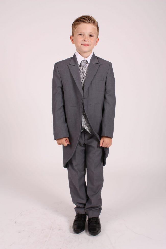 5 piece grey swirl tailcoat-0