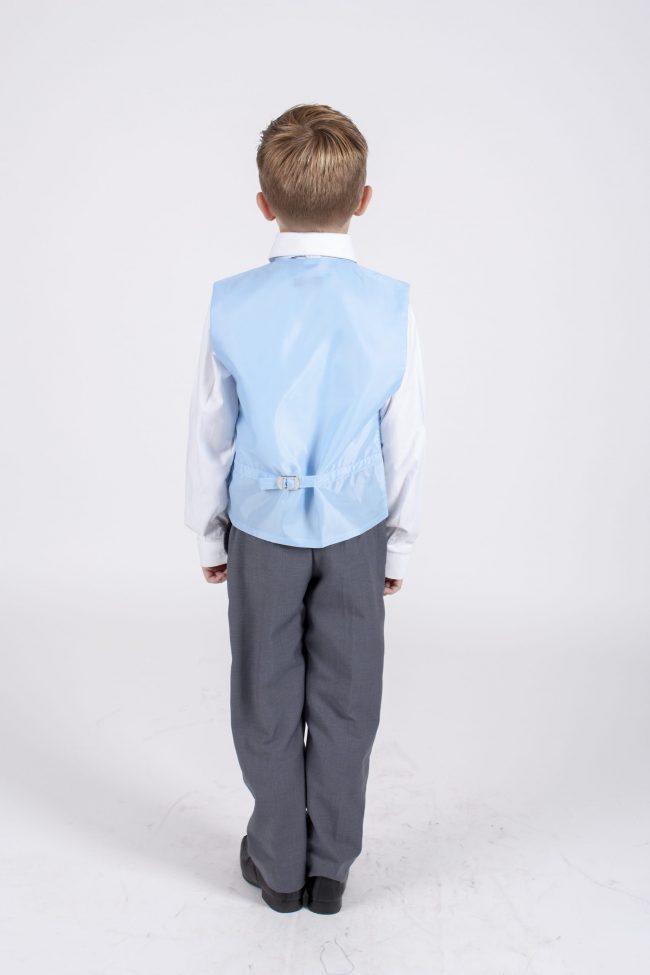 5 piece grey/blue diamond tailcoat -1281