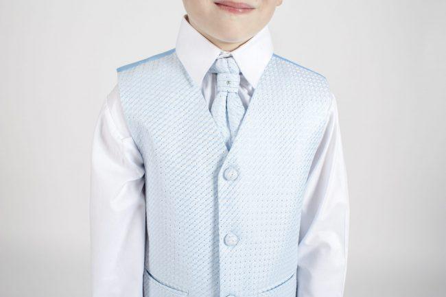 5 piece grey/blue diamond tailcoat -1286