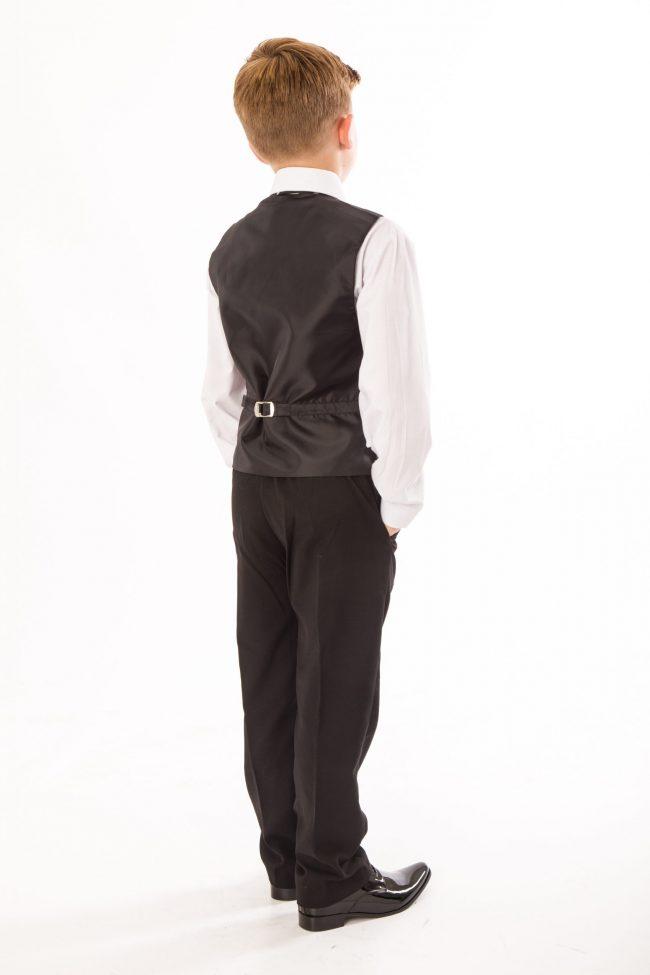 5 piece boys black tailcoat -1434