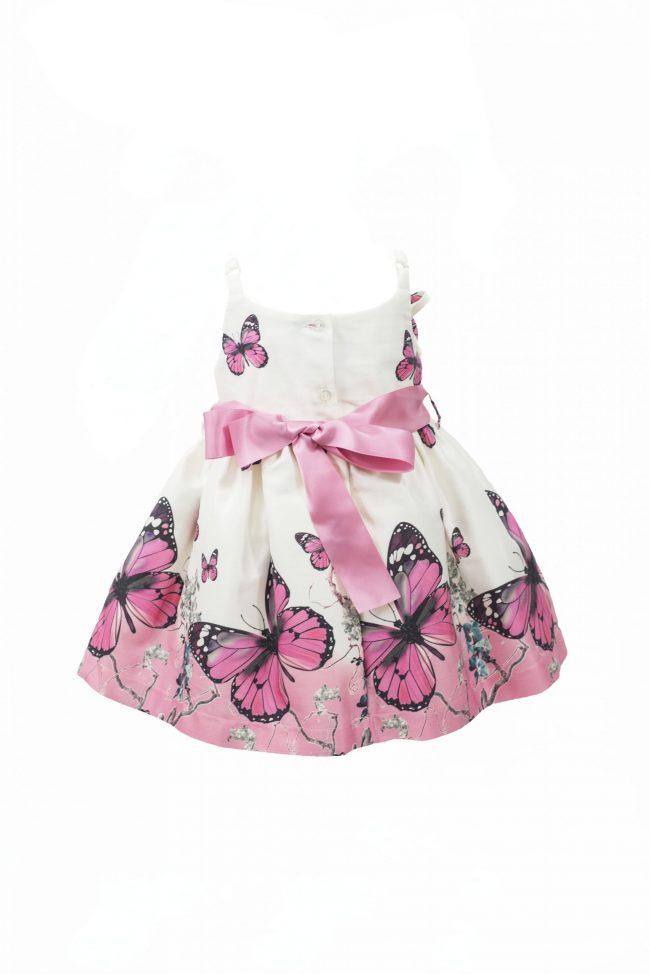 Pink butterfly dress-1469