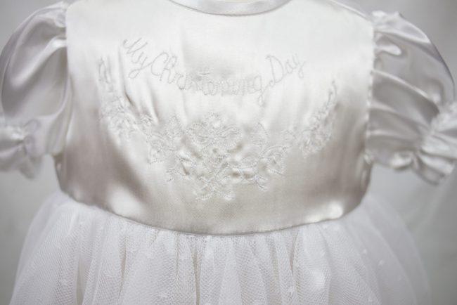 White 'my christening day' Dress-1532