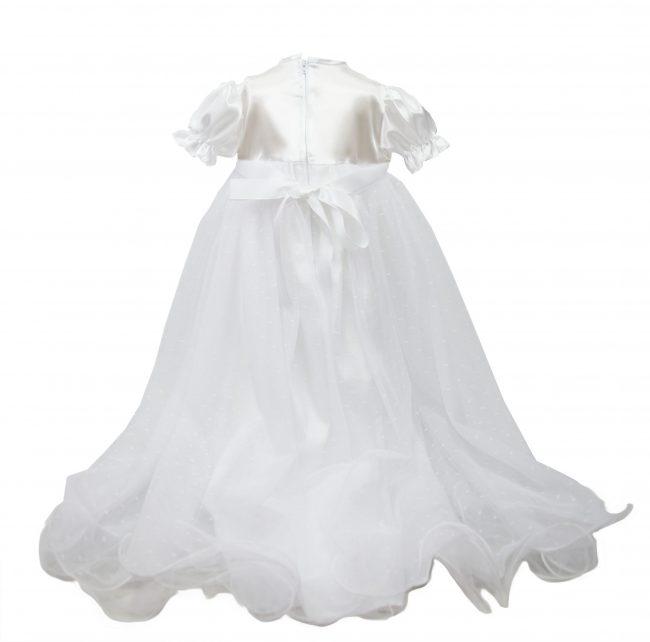 White 'my christening day' Dress-1530