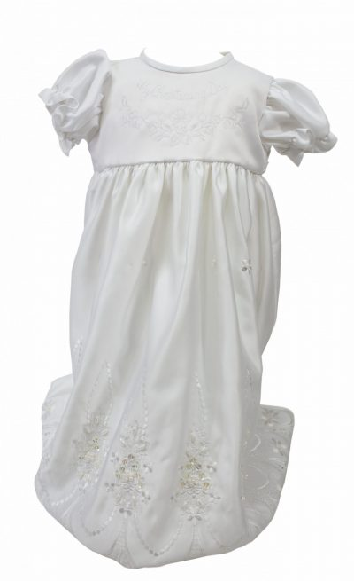 CREAM 'MY CHRISTENING DAY' DRESS-0