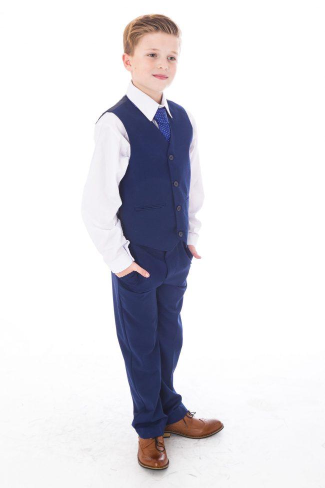 5pc Vivaki Blue Suit -1496