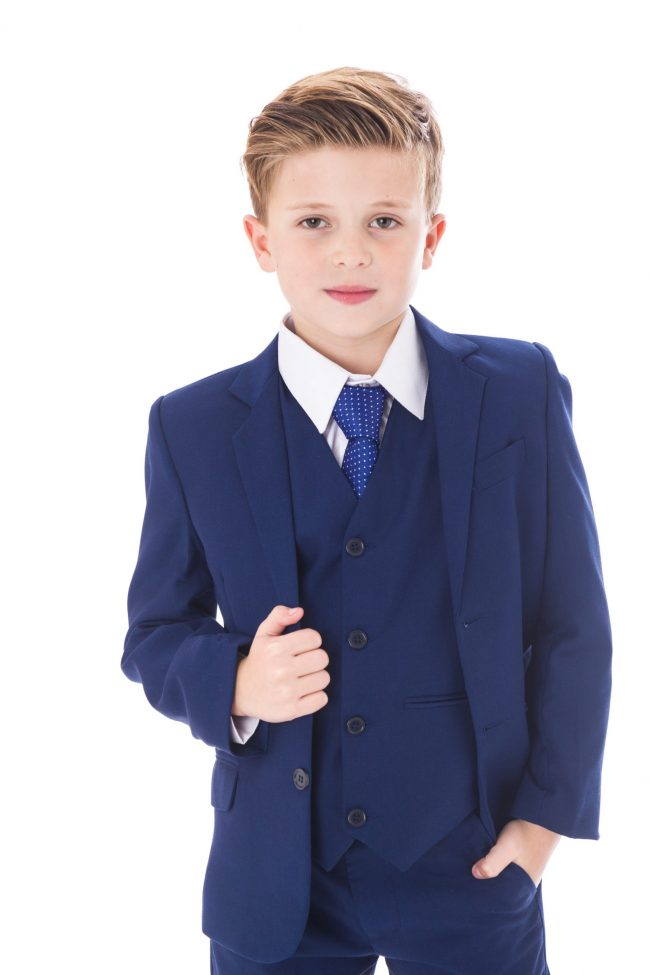 5pc Vivaki Blue Suit -1498
