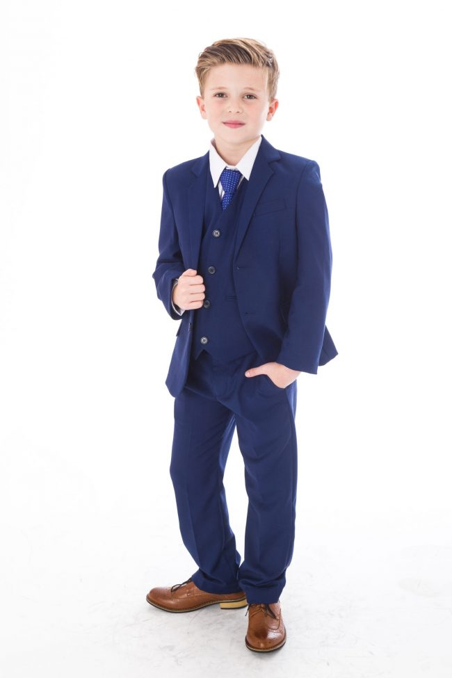 5pc Vivaki Blue Suit -0