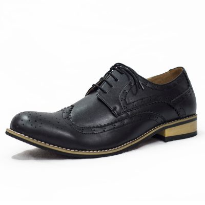 BLACK BROGUE VIVAKI SHOE-0