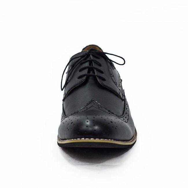 BLACK BROGUE VIVAKI SHOE-1544