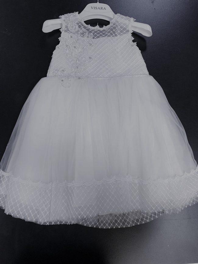 Girls Ivory Dres Royal Jeweled-0
