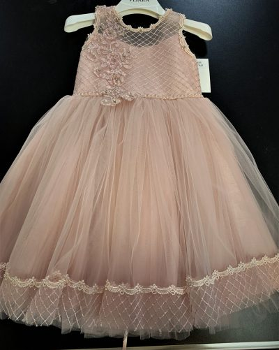 Girls Pink Dress Royal Jeweled-0