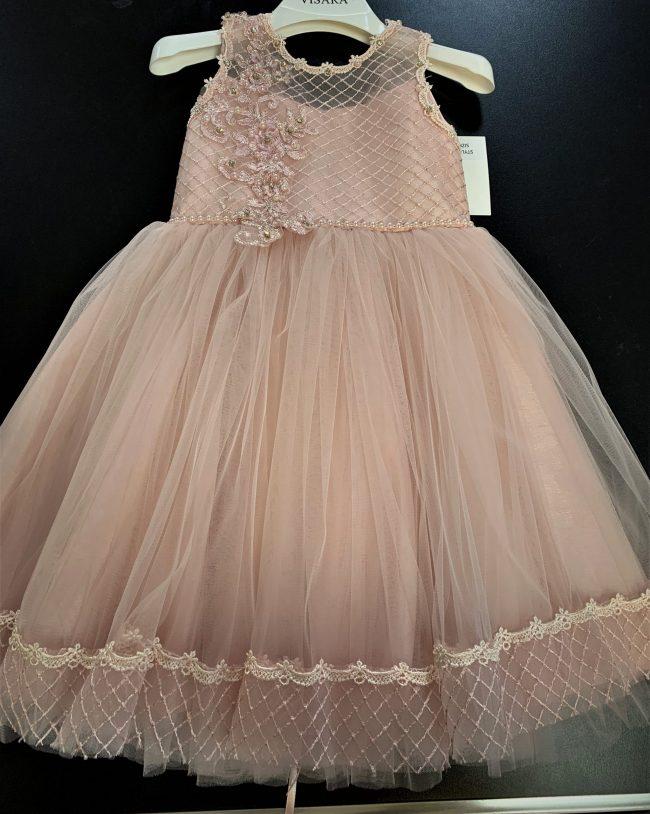 Girls Pink Dress Royal Jeweled-0