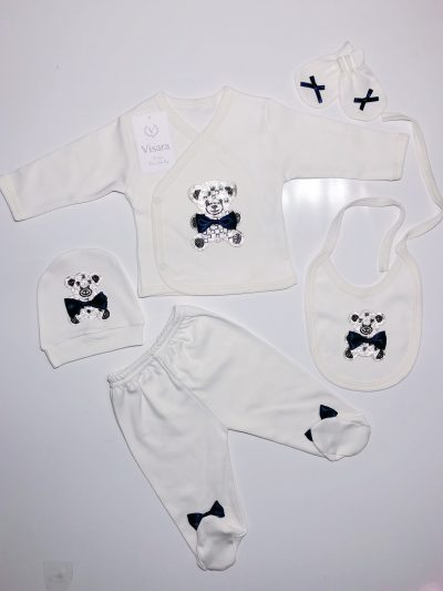 Boys 5pc Navy Set -0