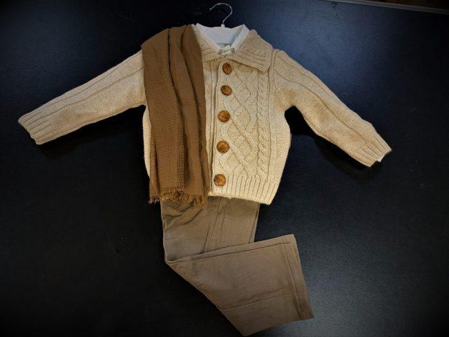 Boys 5pc Cardigan Smart Casual Wear-1798