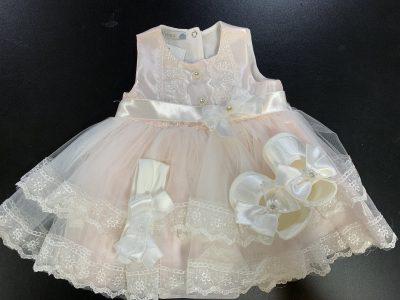 Girls Pink Dress-0