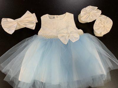 Girls Ivory Dress-0