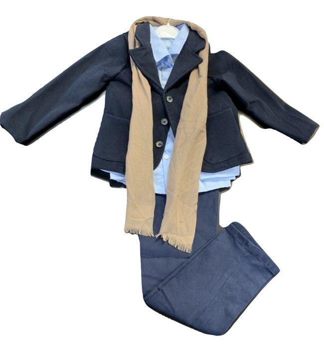 Boys 5pc Blazer Smart Casual Wear-0