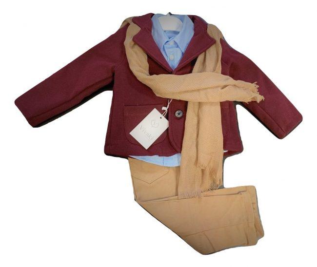 Boys 5pc Blazer Smart Casual Wear-1786