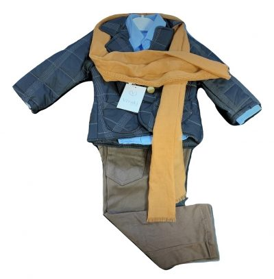 Boys 5pc Jacket Smart Casual Wear-1788