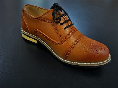 Oxford Boys Shoes Brown-0