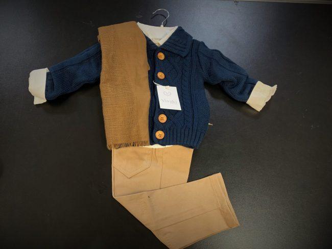 Boys 5pc Cardigan Smart Casual Wear-1799