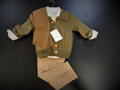 Boys 5pc Cardigan Smart Casual Wear-1800