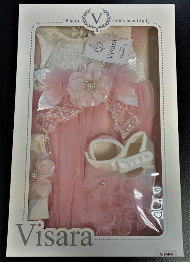Visara Luxury 3 Piece Dress Boxed Set -1898