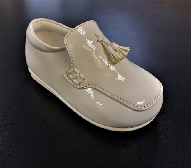 Boys Early Steps White loafers -0