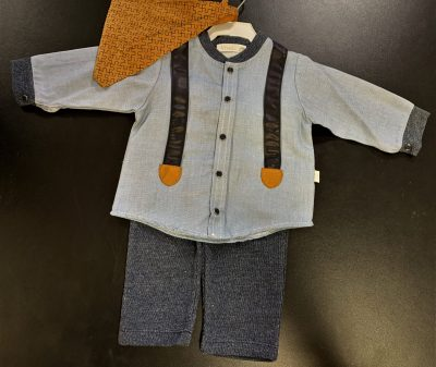 Vivaki Boys 3pc Set Grey-0